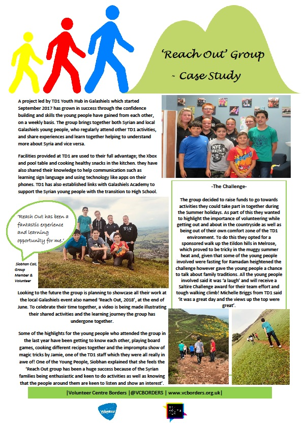 TD1 Reach Out group case study