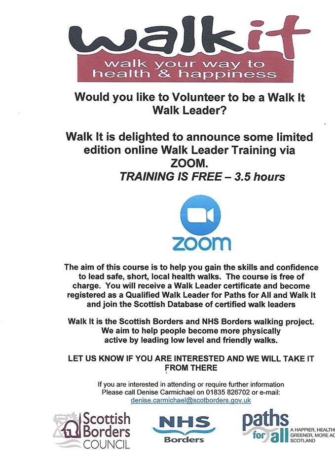 Walk It Walk Leader Training 2020